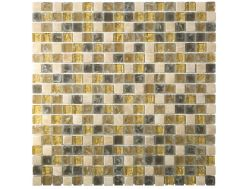 CRA007 crackle glass, Mosaic glass tile 30x30 cm. Acqualine