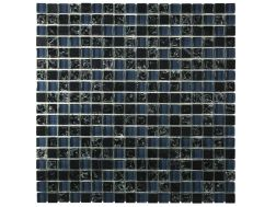 CRA008 -crackle glass, Mosaic glass tile 30x30 cm. Acqualine