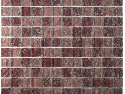CRA013 - crackle glass, Mosaic glass tile 30x30 cm. Acqualine