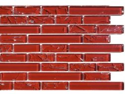 CRA014 -crackle glass, Mosaic glass tile 29,8x30,5 cm. Acqualine