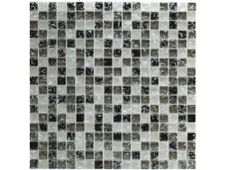 CRA023 - crackle glass, Mosaic glass tile 30x30 cm. Acqualine