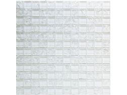 CRA026 -crackle glass, Mosaic glass tile 30x30 cm. Acqualine