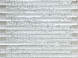 CRA031- crackle glass, Mosaic glass tile 29,8x30,5 cm. Acqualine
