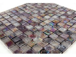 Panache Paillet� Vodka Alcool, Mosaic glass tile 30,5x30,5 cm. Mat Inter
