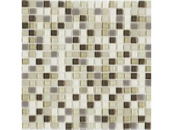 C013 CRISTAL Light mosaic sheet 30x30 cm, Halcon.