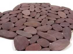 Pebbles rectified, Mosaic plum. Mat Inter