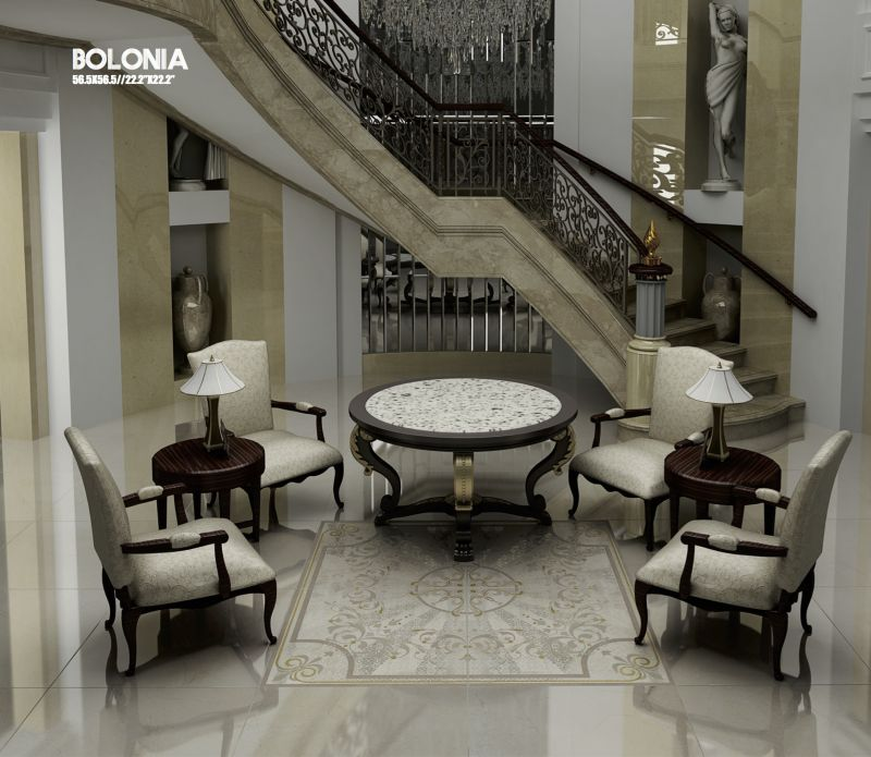 Floor and wall tiling terrasse bolonia crema 56 5x56 5 for Carrelage classe 4