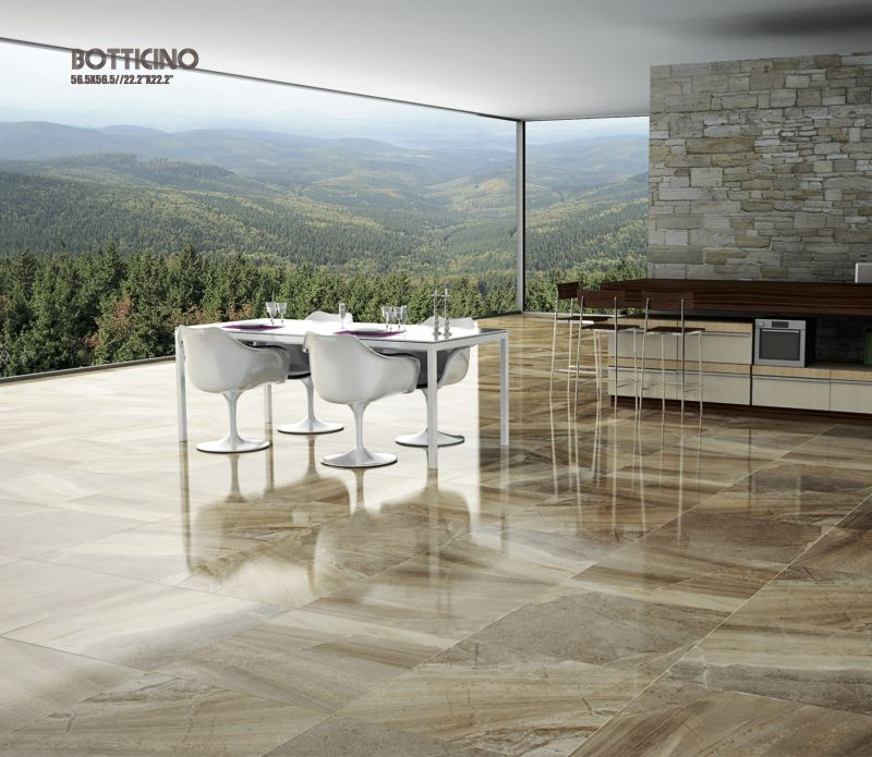 Floor And Wall Tiling Terrasse Botticino Brown 56 5x56