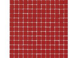 2022 - Emaux Lisos red, Enamels Glass Mosaic