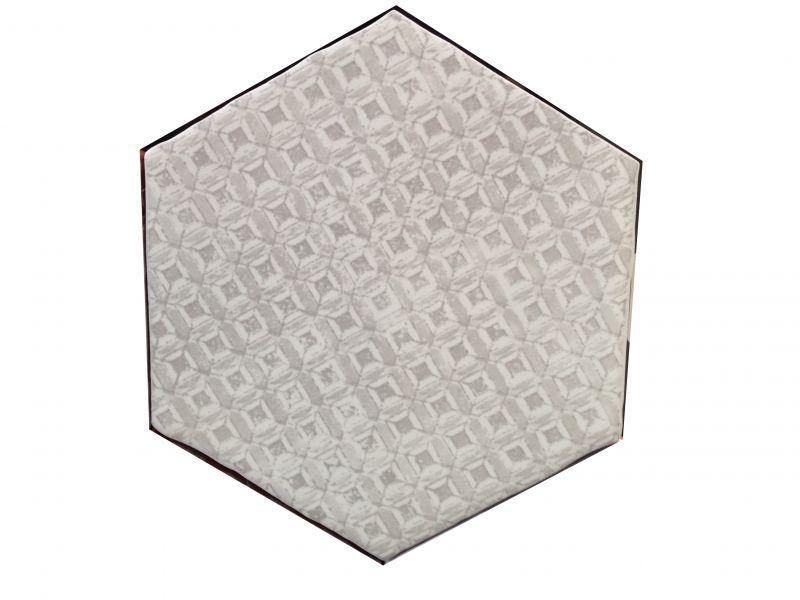 hexagon marrakech gris mosaico 15x15 cm hexagonal tile kitchen jagged edges