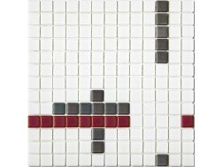 9710 - Emaux Platino Multicolor, Enamels Glass Mosaic