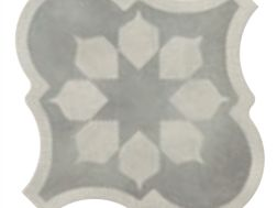 Lyon Blume Grey 26,5x26,5 - Imitation tile cement tiles, Tiles