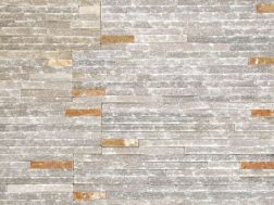 Natural stone wall cladding 18x35cm, Zeta Catarata Iris