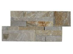 Natural stone wall cladding 18x35cm, Zeta Iris