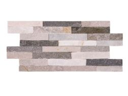 Natural stone wall cladding 10x40 cm, Slim 2