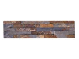 Natural stone wall cladding 15x60 cm, Low Cost Oxido