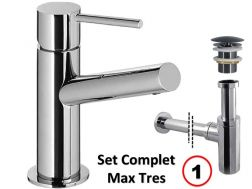 Set washbasin mixer, complete