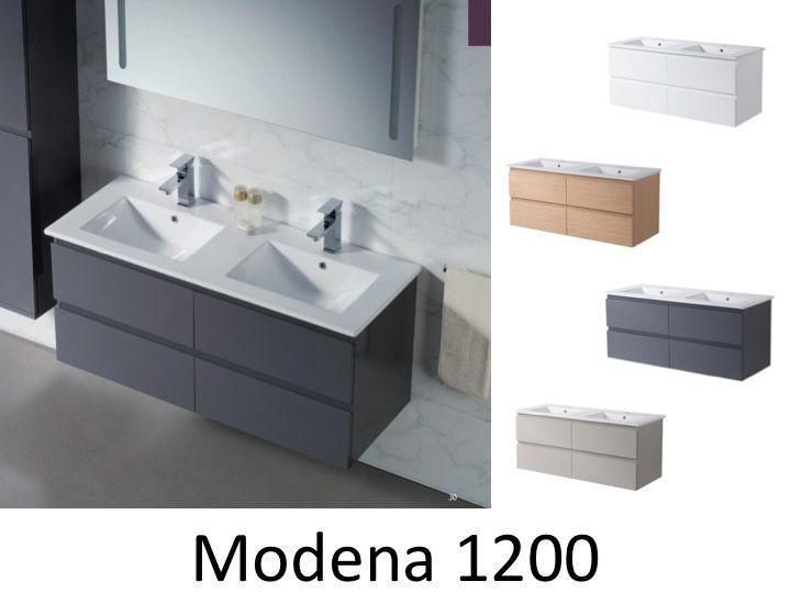 meuble de salle de bain double vasque 130 cm