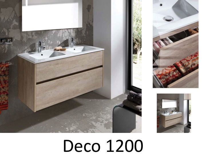 Bathroom furniture sink washbasins meuble sdb bathroom for Deco meuble furniture richibucto