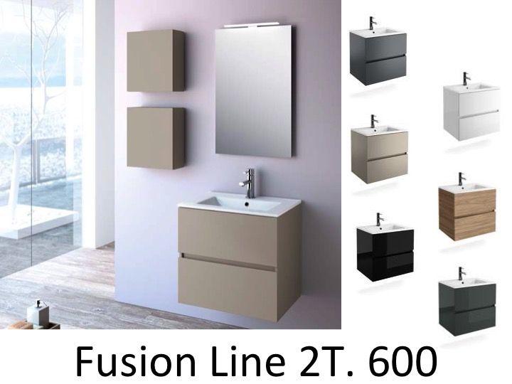 p 146387 3 bathroom furniture 60 cm   fussion line 600   2t Résultat Supérieur 15 Inspirant Meuble Salle De Bain En 60 Cm Photos 2017 Lok9