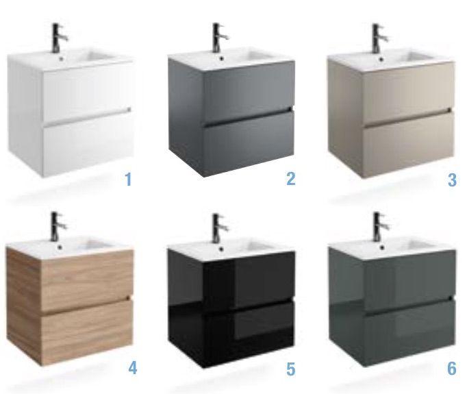 meuble salle de bain 70 cm noir