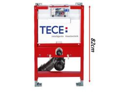 Support frame, low waist 820 mm for hanging toilet, TECE Applik