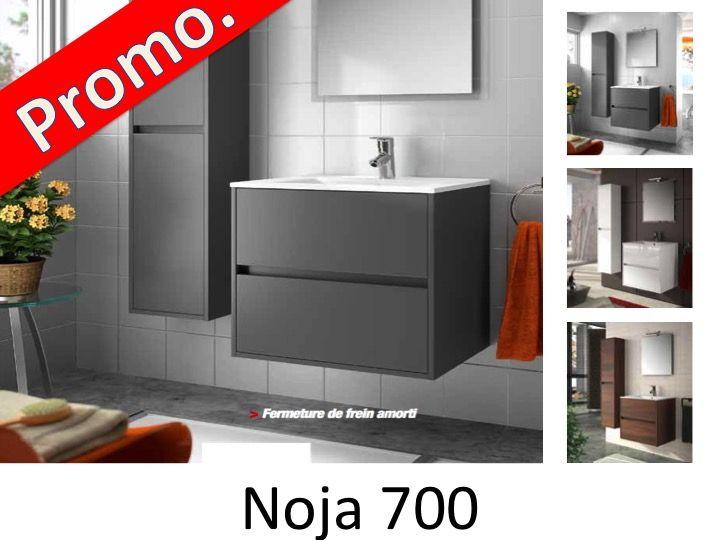 meuble salle de bain noja 700