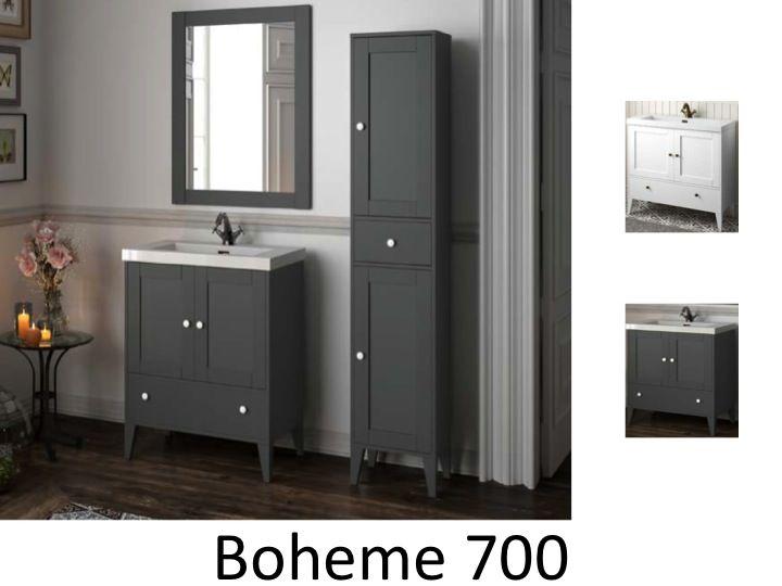 meuble salle de bain 70 cm sur pied