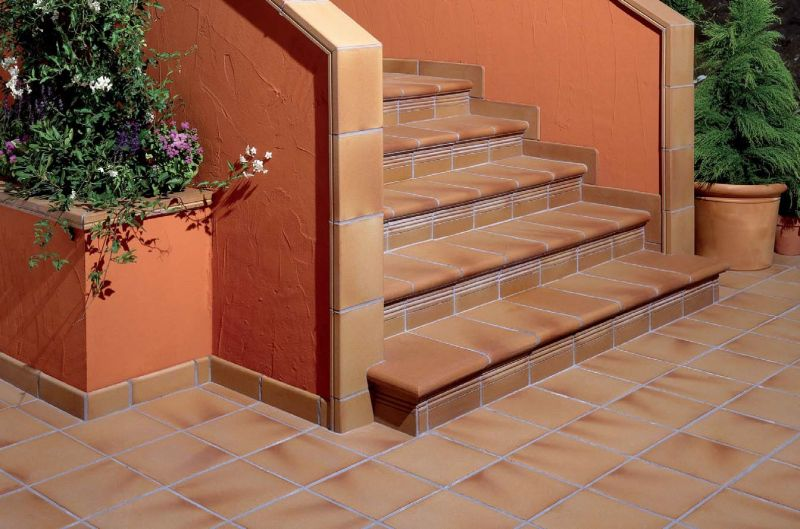30x30 Natural Stair Tread, Pool Coping , Porcelain Tiles   Gres Aragon