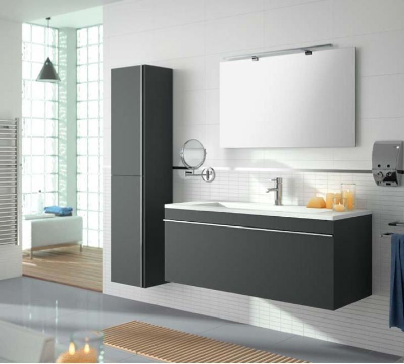bathroom furniture sink washbasins meuble sdb bathroom furniture 100 cm hermes 1000 1t. Black Bedroom Furniture Sets. Home Design Ideas