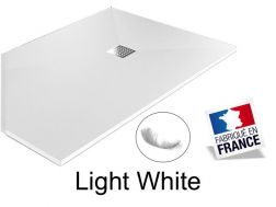 Shower tray ,110 cm Resin, Light white color