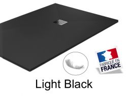 Shower tray ,170 cm Resin, Light black color