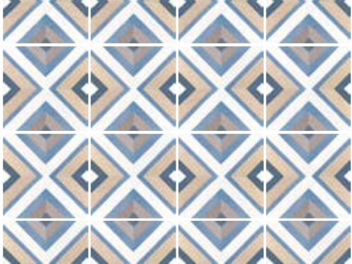 Art Deco 8 Colours 20x20 - Tile, imitation cement tiles, porcelain.