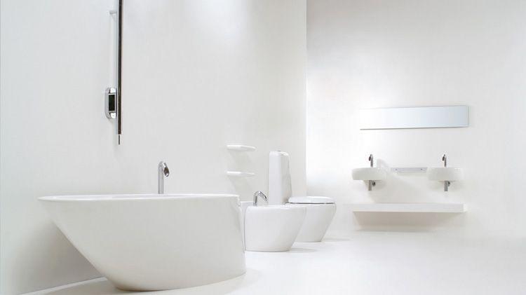 Bathroom furniture sink washbasins wc cuvette design cuvette wc design touch blanc - Cuvette wc design ...