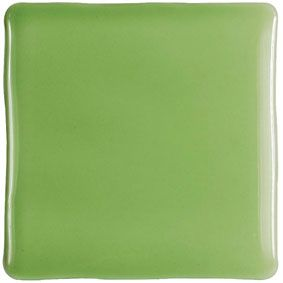 CONIC PISTACHO Brillo 10x10 cm, wall, tiled tiled jagged edges