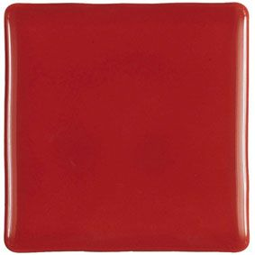 CONIC ROJO Brillo 10x10 cm, wall, tiled tiled jagged edges