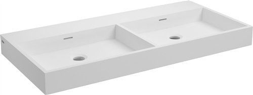Bathroom furniture sink washbasins accessoires double sink 90 cm washme r - Lavabo double vasque retro ...