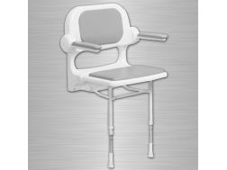 Padded seat with backrest and armrests shower 2000 series Bathroom Mobility Aids