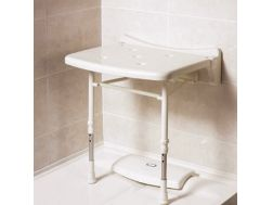 Shower seat without cushion padded compact 2000 series Bathroom Mobility Aids