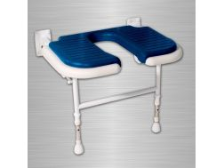 Wide padded seat shower U Series 4000 - Bathroom Mobility Aids