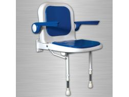 Padded seat with backrest and armrests shower 4000 series Bathroom Mobility Aids