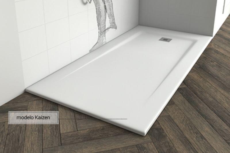 Shower tray corian type shower tray type corian in - Plato ducha corian ...