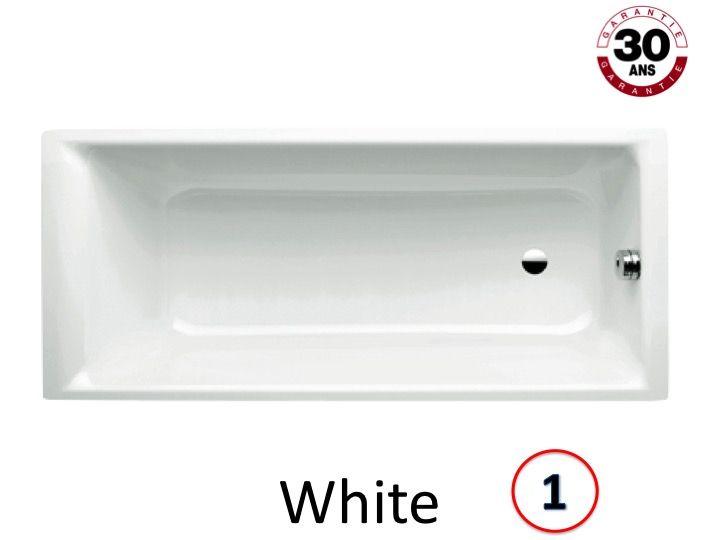 Radiator heated towel rail Baignoires Bathtub 170 x 70 cm
