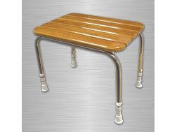 Stool with wooden slats Bathroom Mobility Aids