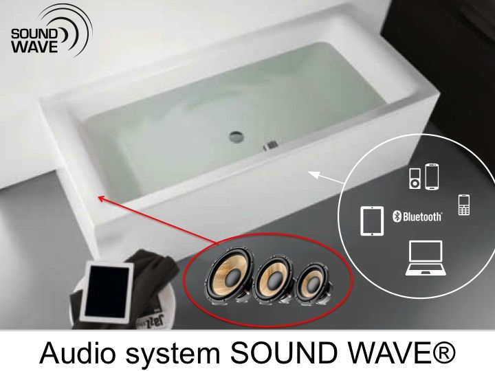 Bathroom audio system
