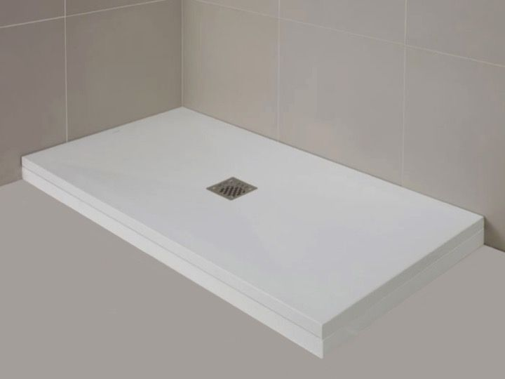 baseboard resin base color of shower trays finishing stone