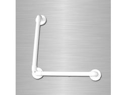 Bar reinforced angled 90 ° smooth support Bathroom Mobility Aids