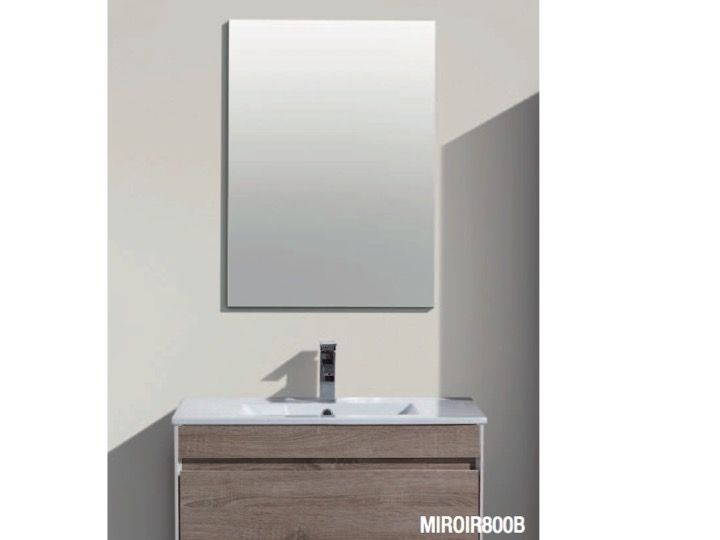 Hanging Bathroom Cabinet, 60 Cm, With Washbasin And Mirror   AGATE 600