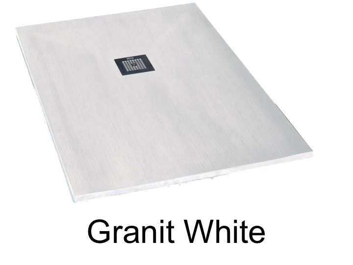 Shower Tray 200 Cm In Marble Mineral Resin, Small And Large, Extra Flat
