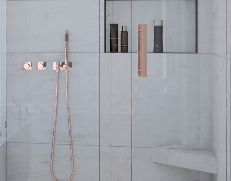 Shower tray A carreler Wedi - Niches rectangular shower tile Wedi ...